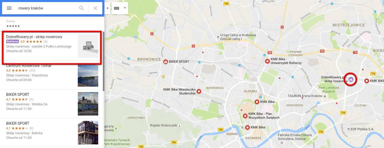adwords reklamy w mapach google