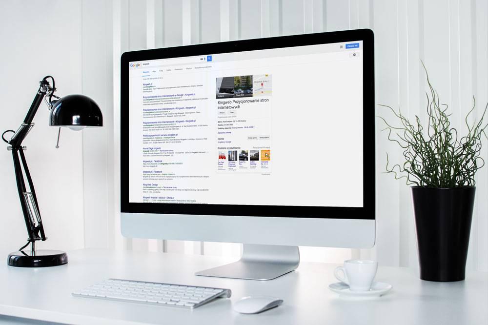 wahania pozycji w Google